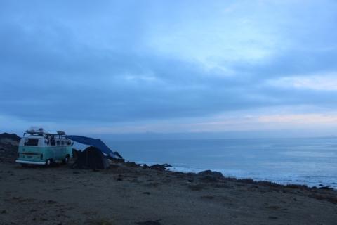 Baja - Dormida en acantilado